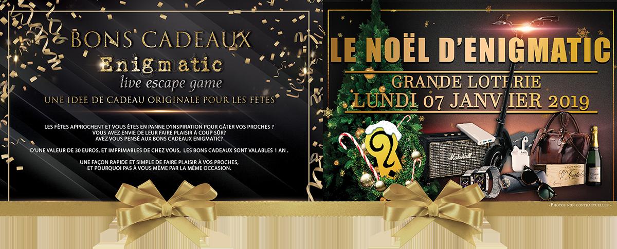 Jeu concours Enigmatic | Enigmatic Paris - Live Escape Game à Ferrière en Brie